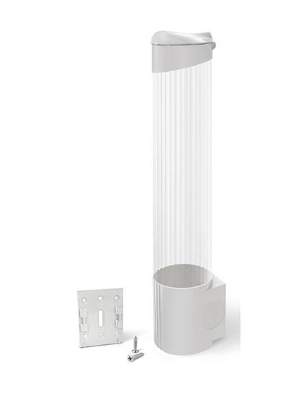 Держатель для стаканов на шурупах Ecotronic (белый)