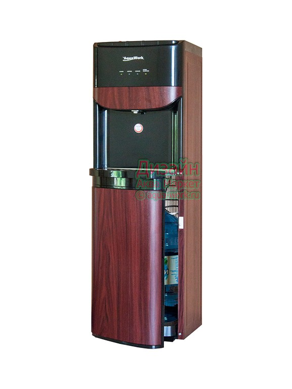 Кулер для воды Дерево красное с загрузкой снизу
