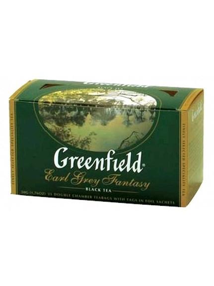Чай «Гринфилд Эрл Грей Фентези» (с бергамотом) 25 пак