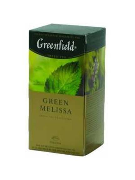Чай «Гринфилд Грин Мелисса», 25 пак