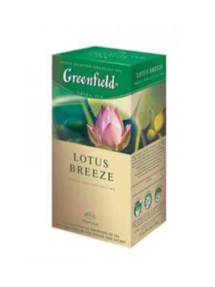 Чай «Гринфилд Лотус Бриз» зеленый (лотос-мята), 25 пак